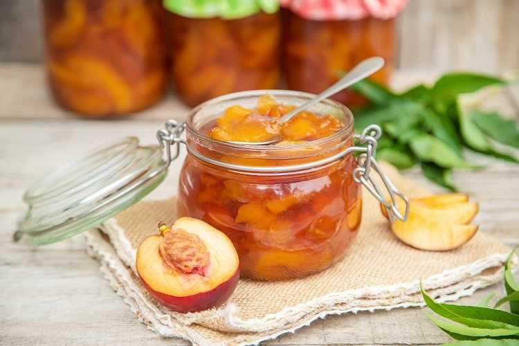 confiture-sans-sucre - nectarine - indice-glycemique-faible