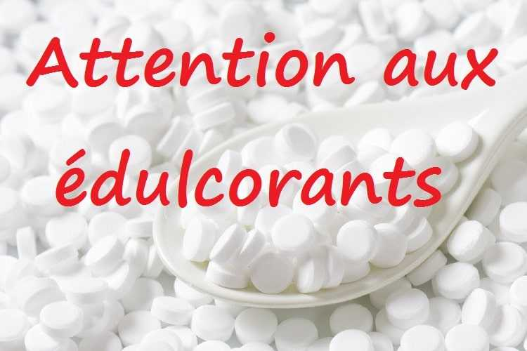 edulcorants - confiture - danger - sante