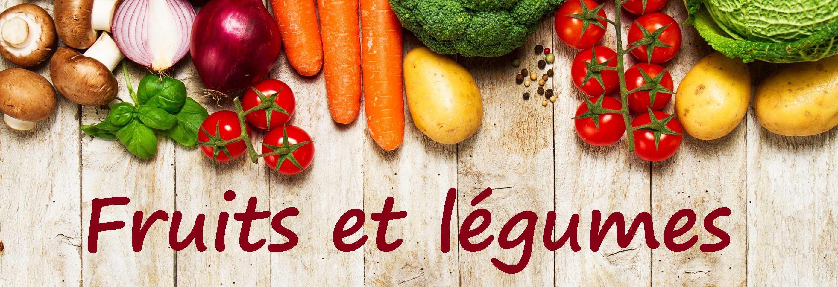 fruits et légumes - alimentation saine