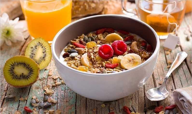 petit dejeuner equilibre