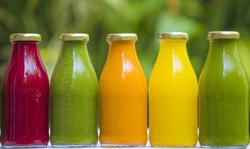 smoothie - jus de fruits bio